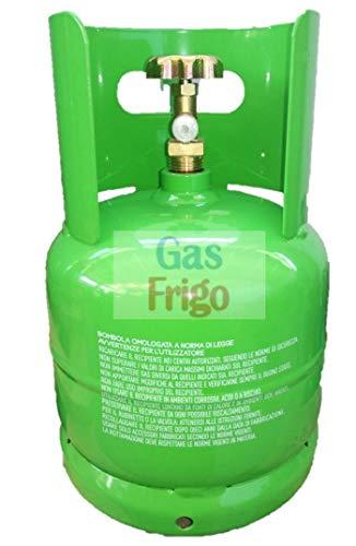 Bombola Vuota ricaricabile 2,5 lt per tutti i tipi di Gas Refrigerante