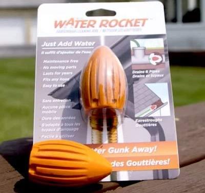 The Water Rocket 9200, Orange