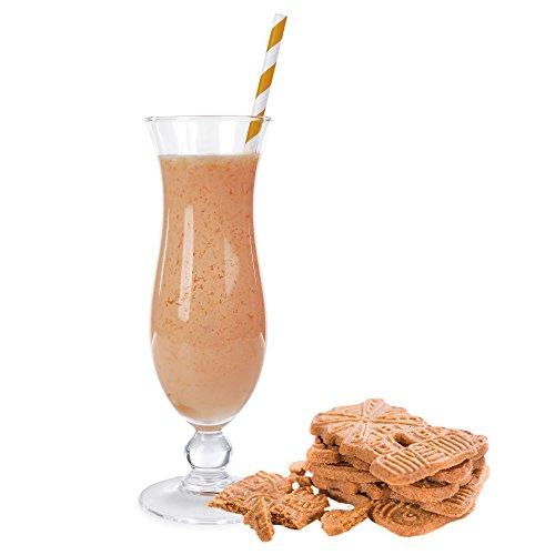 Spekulatius Geschmack Eiweißpulver Milch Proteinpulver Whey Protein Eiweiß L-Carnitin angereichert Eiweißkonzentrat für Proteinshakes Eiweißshakes Aspartamfrei (200 g)