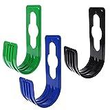 Gartenschlauchhalterung: Gartenschlauch-Halterung aus Metall zum Anbringen am Garten-Wasserhahn (Gartenschlauchhalter) 3PCS