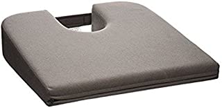 Tush Cush Car / Compu Computer Office Seat Cushion (Charcoal Gray)