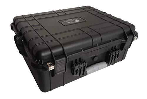 Case Club CZ Scorpion EVO 3 S1 Pistol & S2 Pre-Cut Waterproof Pistol Case with Silica Gel to Help Prevent Gun Rust (Gen 2)
