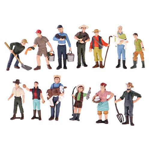 FLAMEER Modelo de Gente de Figura Acción de Persona para