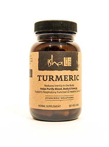 Isha Organic Turmeric Curcumin Supplement 990 mg