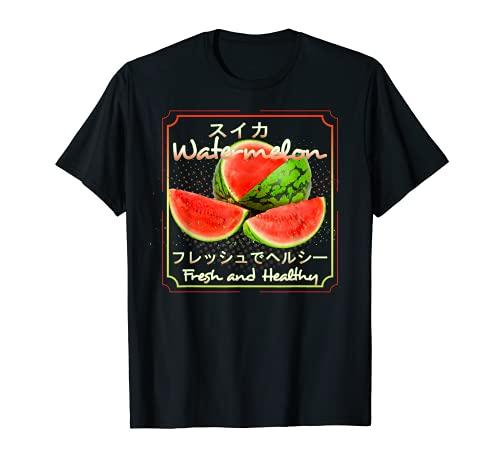 Sandia Fruta vegano Vegetariano Zumos de Sandias Camiseta