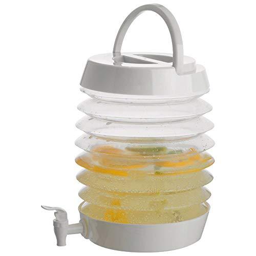 Vavent Getränkespender XXL 7,5L aus Kunststoff mit Zapfhahn faltbar