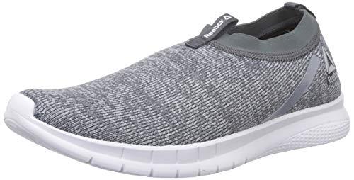 Reebok Men Delta Slip On Lp True Grey/Cool Shadow Running Shoes-9 UK/India (43 EU)(10 US) (DV7874)