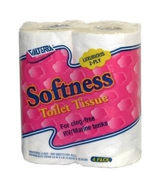 Valterra Q23630 Softness 2-Ply Toilet Tissue, (Pack of 4) Quantity 10
