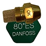 Danfoss Oil Fired Boiler Burner Nozzle 0.55 x 80 ES USgal/h ° Degree Spray Pattern Heating Jet 1.65 Kg/h