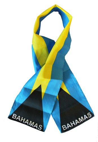 Bahamas - Lightweight Flag Scarf