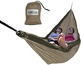 Trek Light Gear Double Hammock - The Original Brand of Best-Selling Lightweight Nylon Hammocks - Use for All Camping, Hiking, and Outdoor Adventures