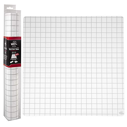 Double-Sided Role Playing RPG Game Mat- Reversible Silicone Battle Matte Grid w Hexes and Squares- XL 20'x20'-Foldable, Rollable, Wet Eraseable - Made for D&D Dungeons Dragons, Pathfinder and More