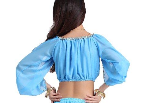 ZLTdream Lady's Belly Dance Long Sleeves Chiffon...