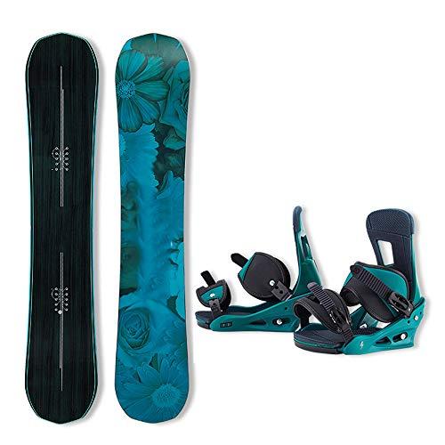 N \ A Snowboard- und Bindungspaket, bestes All-Terrain-, Twin Directional-, Hybridprofil-Snowboard & Bindungen für alle Level