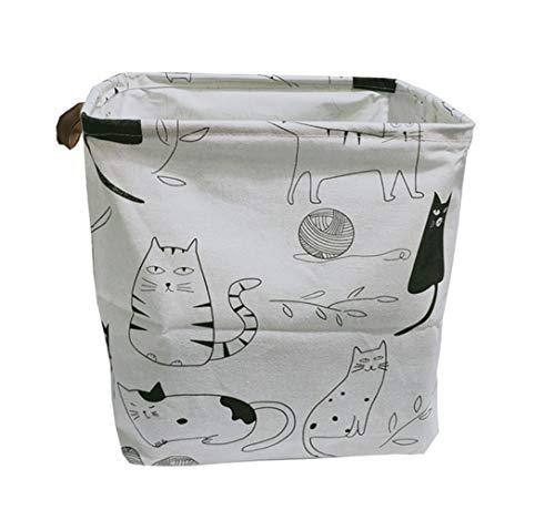 Cesta Plegable de lavandería cesta for niños de juguete cesta del almacenaje de las misceláneas de Lego Libros perro juega al organizador de la caja de almacenamiento de ropa bolsa de almacenamiento r
