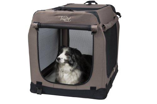 TrendPet Faltbare Hundebox TPX-Pro (TPX75-Pro 75x55x60cm)