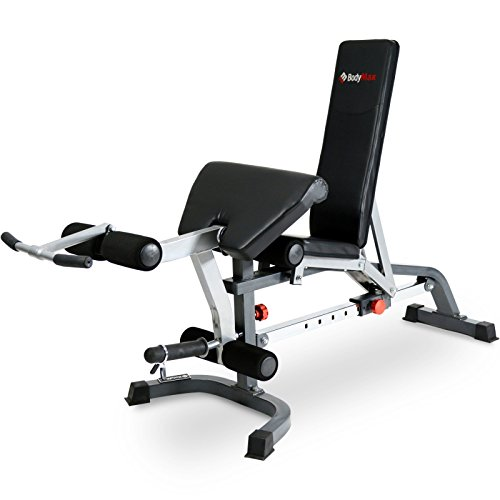 BodyMax CF330 Premium Weight Bench - Black