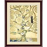 【グスタフ・クリムトの代表作】クリムト展 ウィーンと日本 ■GUSTAV KLIMT(グスタフ クリムト)F4号 生命の樹 〈簡易梱包