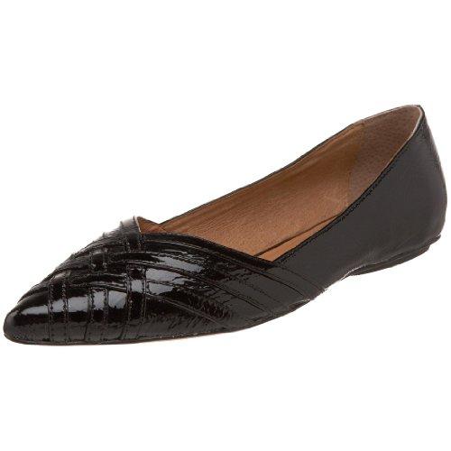 Corso Como Women's Edy Ballet Flat,Black Patent,8 M US