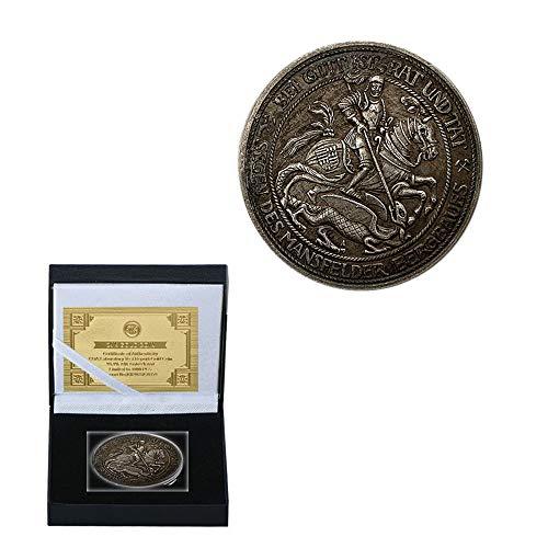 Magische Münze Seltsam Kidd Anteil Kupfer Alter Silberner Medaillon Kupfer Silbermünze Gedenkmünze Rost/Silber/Runden