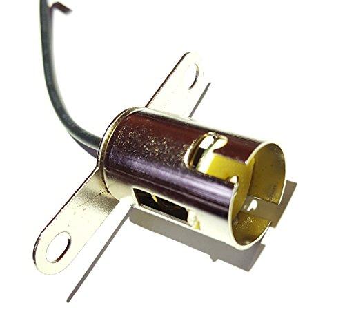 2x P21W BA15S 1156 FASSUNG LAMPENFASSUNG SOCKEL STECKER KABEL BOOT 12V