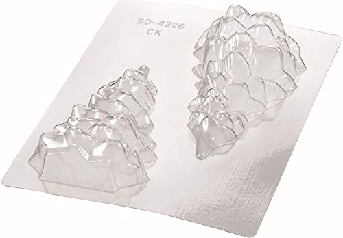 Silikomart 70.243.00.0060 - Stampo in policarbonato trasparente per albero di Natale