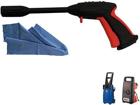 Parpyon Pistole Für Hochdruckreiniger Annovi Reverberi Ar Blue Clean Black Decker Schnellanschluss Für Wasserschlauch Ersatzteile Für Hochdruckreiniger Gratis Tuch Ar41561 Baumarkt