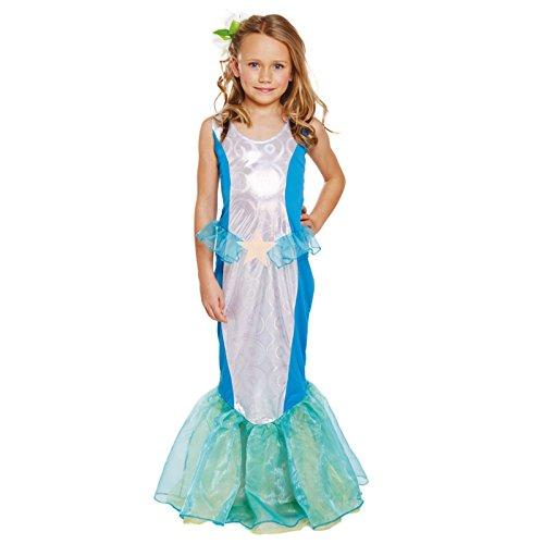 Sirène de Déguisements âge de costume de la mer fille 4-6 ans