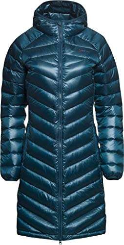 YETI Pearth W's Down Coat Damen Daunenmantel Mantel, Arctic Night, Größe S