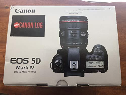 Canon EOS 5D Mark IV Digital SLR Camera Body with...