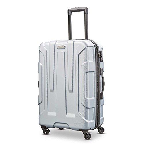 Samsonite Centric Hardside Luggage, Silver, Checked-Medium