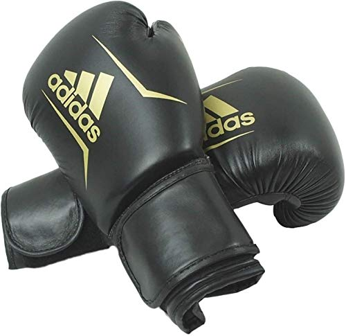 adidas Speed 50 Boxing Gloves (Black, 12oz)