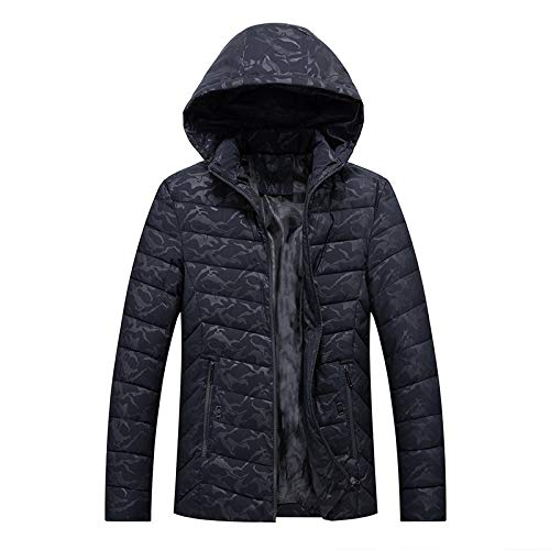 KOUPNLTM nieuw donsjack winter met capuchon hoogwaardige waterdichte warme jas mantel mantel mantel mantel mannen para´s