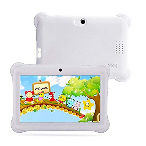 Kinder Tablet 8 Zoll 2GB RAM 32GB ROM Vorinstalliert 1080p Full HD-Display WiFi Android Tablet Kinder mit Kinder Tablet PC 7in Android 4.4 Case Bundle Dual Kamera 1,2 GHz Wi-Fi