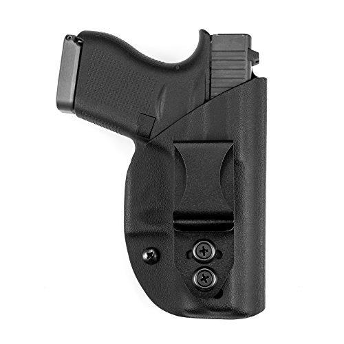 Vedder Holsters LightTuck IWB Kydex Gun Holster Compatible with Glock 19, 23, 32 (Gen 3, 4, 5) (Right Hand Draw)
