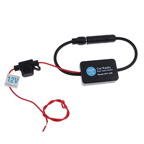 MagiDeal Amplificateur De Signal D'Antenne Radio Adaptateur 12 V Voiture FM AM Adaptateur