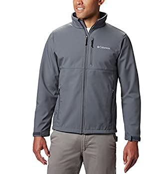 Columbia Men s Ascender Softshell Front-Zip Jacket Graphite Small