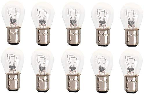 Lot de 10 ampoules sphériques P21/5 W BAY15d 21/5 W 12 V