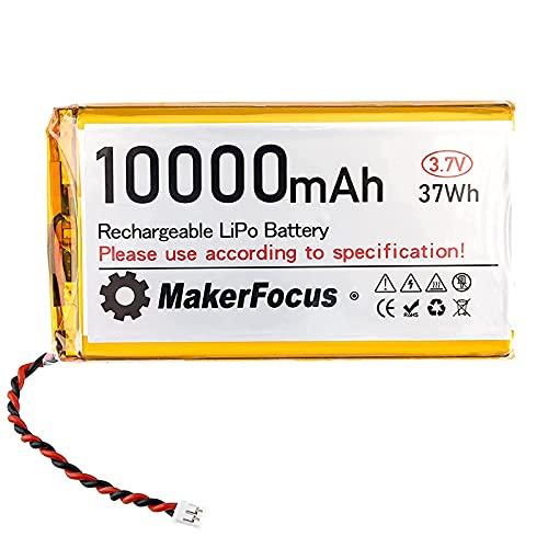 3.7Vリポバッテリー10000mAhリチウム充電式バッテリー 9065115 Raspberry PiUPSボードに適しています マイクロPH2.0プラグ付き