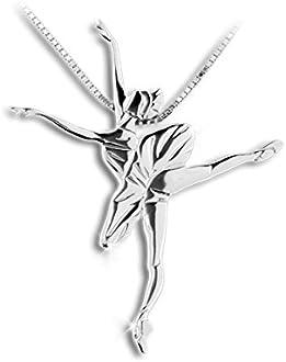 danse classique Neoclassic Bijoux de la danse pendentif danseur