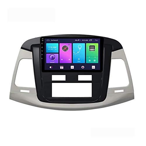 Android 10.0 Car Stereo Unidad principal de doble Din Compatible con TOYOTA INNOVA AVANZA 2007-2011 Navegación GPS Pantalla táctil de 9 pulgadas Reproductor multimedia MP5 Receptor de video y radio c