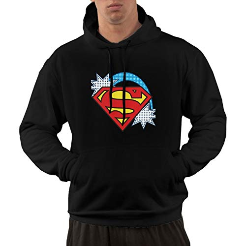 Supergirl Classic Adult Men'S Keep Warm Sweater Handsome Pullover Hoodie