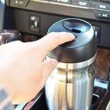 dongzhifeng Tazze da Viaggio Isolate sottovuoto da 350ml Doppia Parete in Acciaio Inox Bicchiere da caffè per Bevande Calde Senza Sudore Thermos Canteen Water Bottle