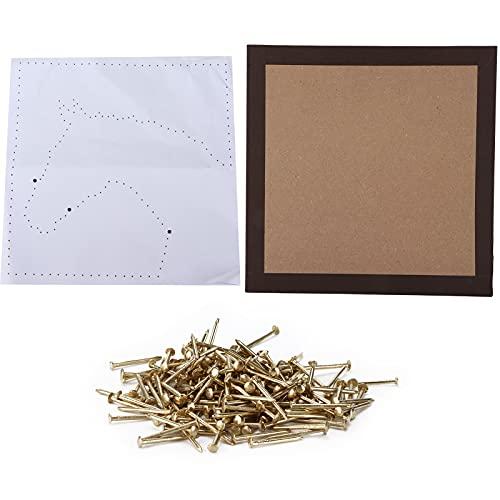 Kit artistico con corde per unghie fai-da-te, kit completo con corde artistiche per unghie di buona qualità per bambini per la casa dai 10 anni in su per la decorazione dell'ufficio