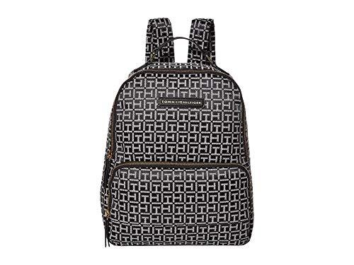 Tommy Hilfiger Alva Large Backpack Black/White One Size