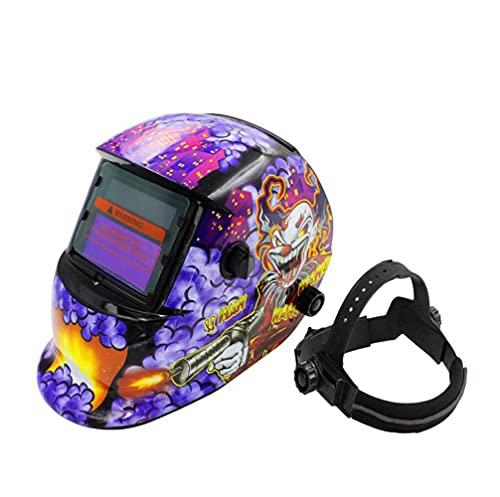 ConPush Soldadores máscara de oscurecimiento automático de solar careta soldar automatica mascara soldar Arc Tig Mig