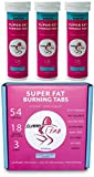 Slimmy Tabs - Super Fat Burning Effervescent Detox and Weight Loss Tabs - All Natural Ingredients, Keto Friendly, No Calories, Gluten Free, Vegan, Targets Fat Cells - 54 Tablets (Berry Blast Flavor)