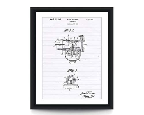 Indiase Motorfiets Carburateur Patent Poster Automotief Decor Patent Poster Patent Art Poster Auto Muur Kunst Auto Deel Kunst