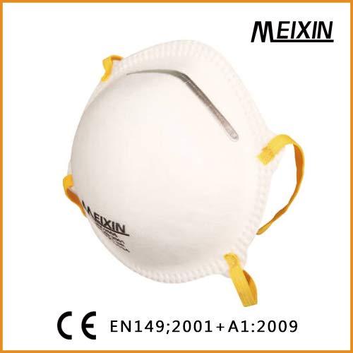 MEIXIN - Máscara FFP2-20 Máscaras - MX-2005 - Certificado EN 149:2001 + A1:2009 - CE 2797