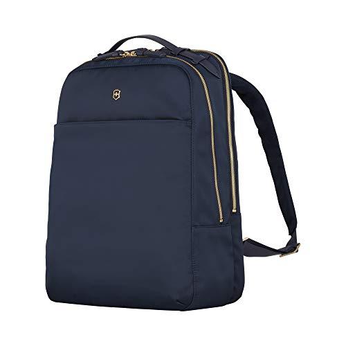 Victorinox Victoria 2.0 Deluxe Business Backpack - Zaino porta PC Laptop 16 Pollici - Donna - 21x29x40cm - 17l - 0,8Kg - Blu